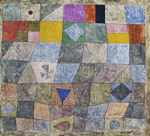 Paul Klee: Freundliches Spiel.