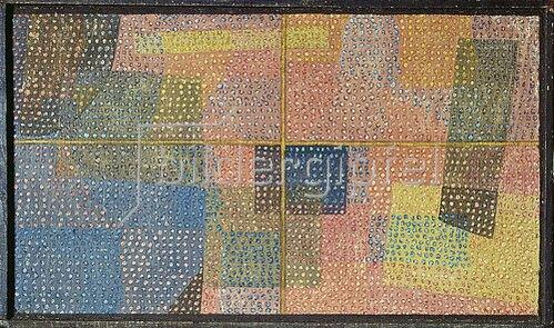 Paul Klee: Durch ein Fenster.
