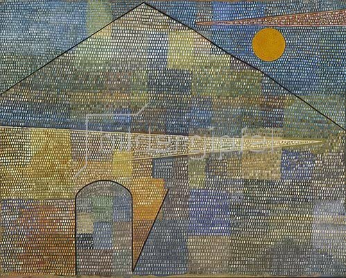 Paul Klee: Ad Parnassum. 1932.