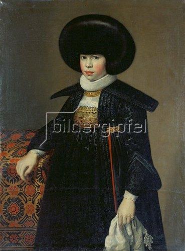Anonym: Bildnis der Magdalena Wettstein.