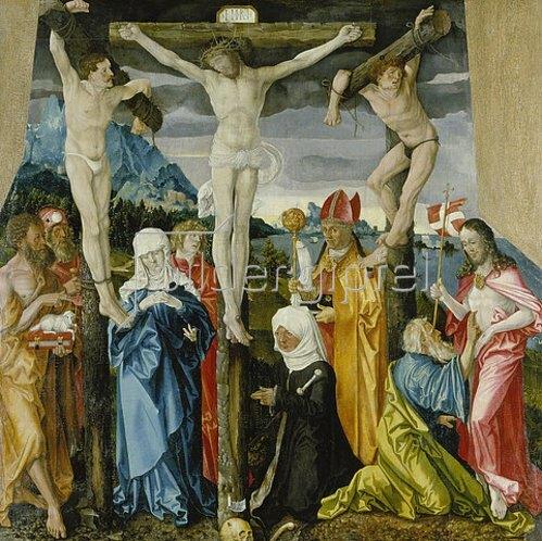 Hans Baldung (Grien): Kreuzigung Christi. 1512