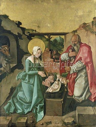 Hans Baldung (Grien): Die Geburt Christi. 1510.