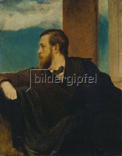 Arnold Böcklin: Selbstbildnis 1861.