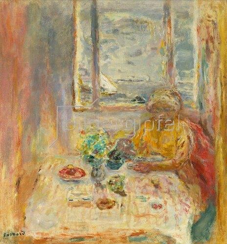 Pierre Bonnard: Apres le Déjeuner. 1940.