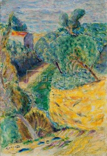 Pierre Bonnard: Landschaft bei Canet.