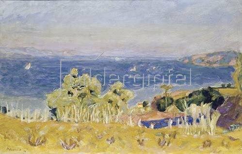 Pierre Bonnard: Sommerlandschaft am Golf von St.Tropez. 1914.