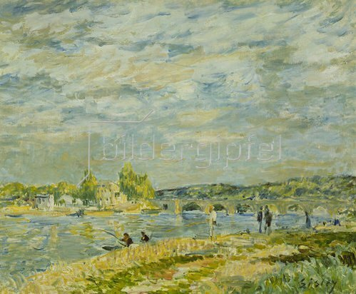 Alfred Sisley: Die Brücke bei Sevres. 1877