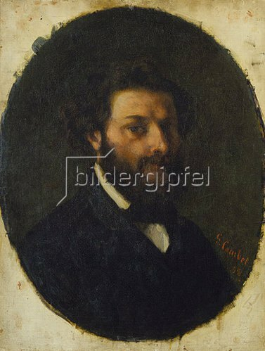 Gustave Courbet: Bildnis des Malers Jules Luntenschütz.