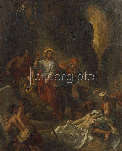 Eugene Delacroix: Die Auferweckung des Lazarus. 1850.