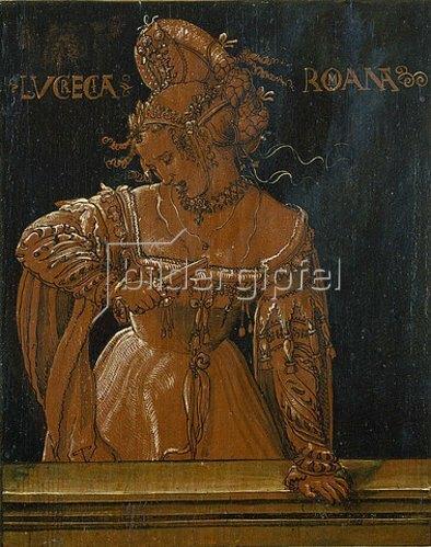 Niklaus Manuel I Deutsch: Der Tod der Lukretia. 1517.