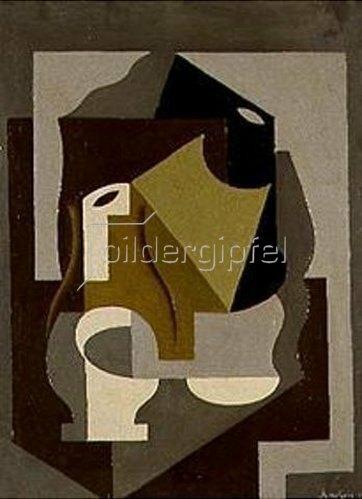 Juan Gris: Stilleben mit Karaffe. 1912.
