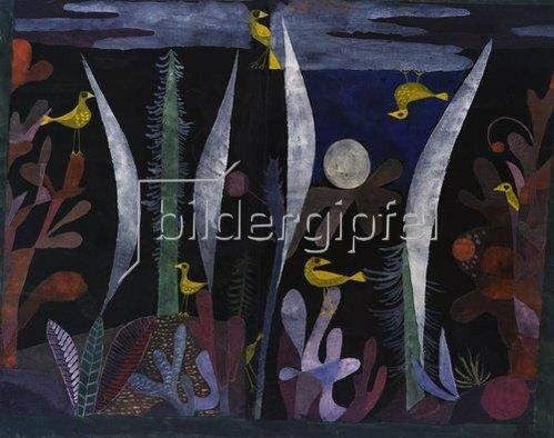 Paul Klee: Landschaft mit gelben Vögeln. 1923.