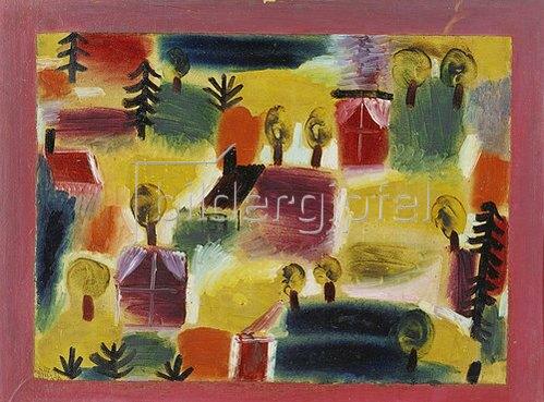 Paul Klee: Dorflandschaft. 1919.