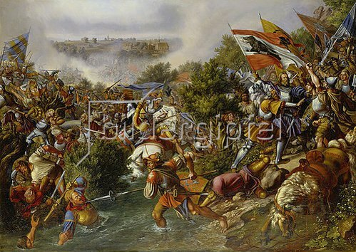Hieronymus Hess: Die Schlacht bei St. Jakob. 1838