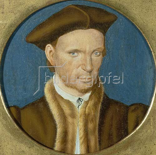 Hans Holbein d.J.: Sir Thomas Eliot im Rund.