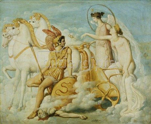 Jean Auguste Dominique Ingres: Die verwundete Venus.
