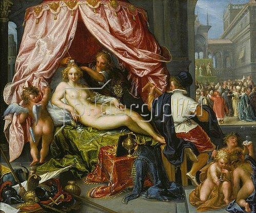 Pieter Isaacsz: Allegorie der Eitelkeit. 1620