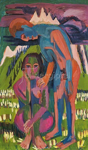 Ernst Ludwig Kirchner: Schwarzer Frühling. 1923