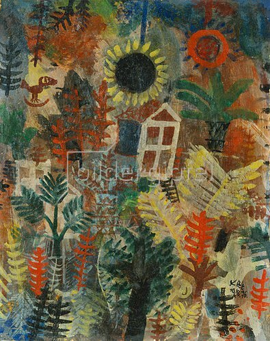 Paul Klee: Gartenlandschaft. 1918.