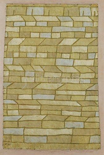 Paul Klee: Barackensiedlung, 1932