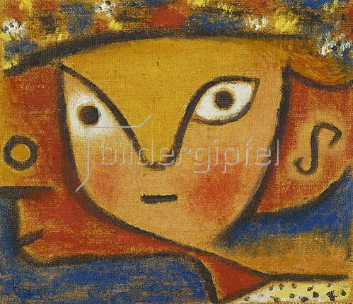 Paul Klee: Blumenmädchen. 1940 R 5.