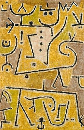 Paul Klee: Rote Weste. 1938.