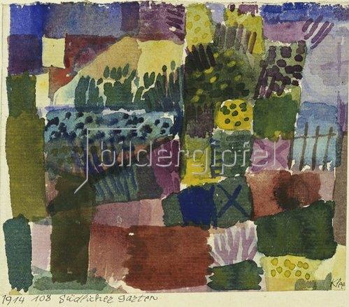 Paul Klee: Südlicher Garten. 1914, 108