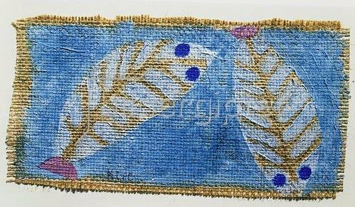 Paul Klee: Blauäugige Fische. 1938.