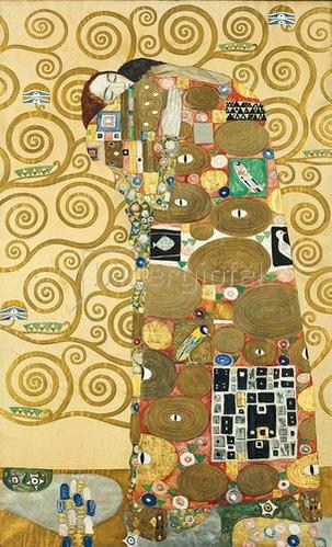 Gustav Klimt: Die Erfüllung Um 1909
