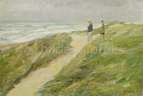 Max Liebermann: Am Strand von Katwijk. Um 1909