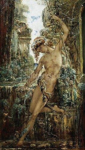 Gustave Moreau: Narziss. Um 1890.