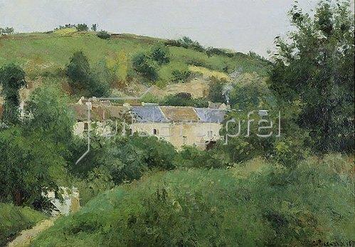 Camille Pissarro: Der Pfad zum Dorf. 1875.