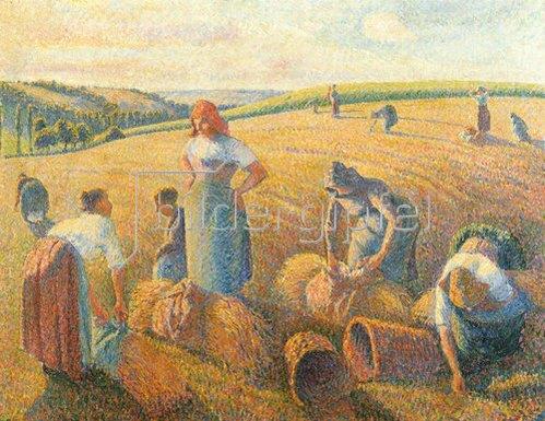 Camille Pissarro: Die Ährensammlerinnen. 1889.