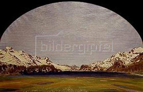 Walter von Ruckteschell: Der Silsersee.