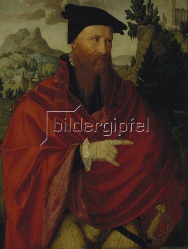Jan van Scorel: Der Wiedertäufer David Joris.