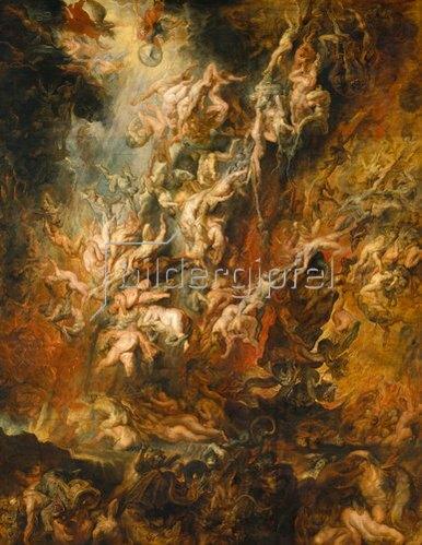Peter Paul Rubens: Der Höllensturz der Verdammten.