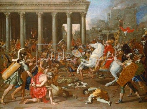 Nicolas Poussin: Die Zerstörung des Tempels in Jerusalem durch Titus