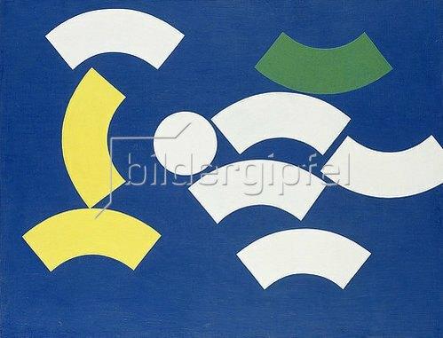 Sophie Taeuber-Arp: Kreissegmente. 1935.