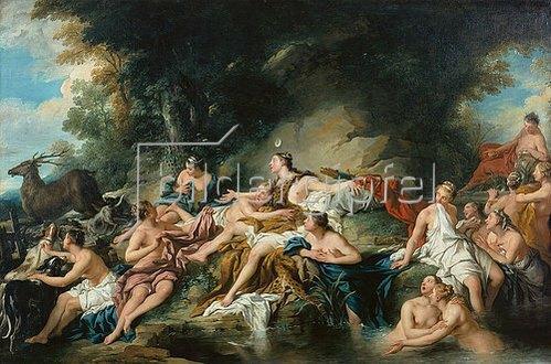 Jean François de Troy: Diana im Bade.