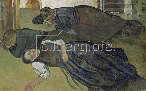 Edouard Vallet: Schlafende Frauen. 1928.
