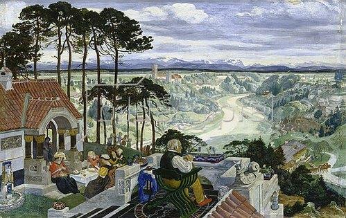 Albert Welti: Deutsche Landschaft. 1900/01
