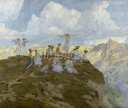 Hans Beat Wieland: Bergvögel. 1906.