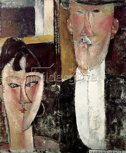 Amadeo Modigliani: Braut und Bräutigam