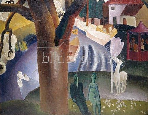 Fritz van den Berghe: La Lys. 1923