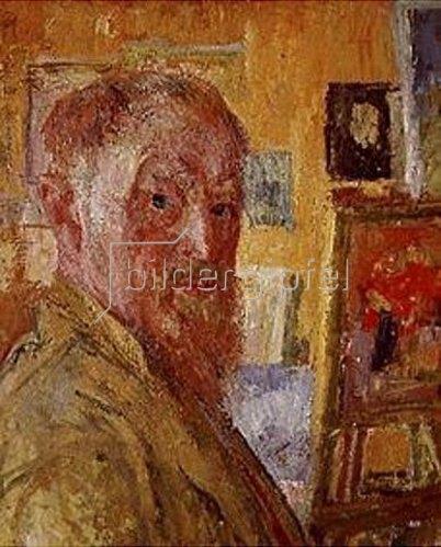Giovanni Giacometti: Selbstbildnis.