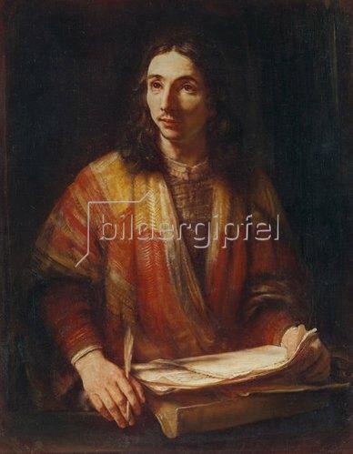Rembrandt van Rijn: Der Evangelist Johannes.