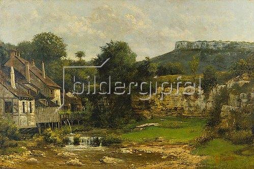 Cherubino Pata: Mühle an der Loue.