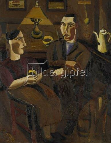Gustaaf De Smet: Die Kaffeetrinker. 1925.