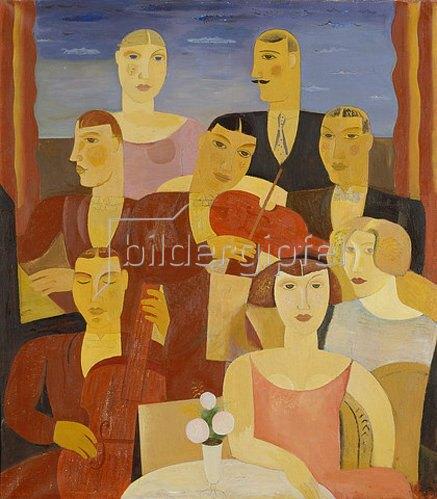 Gustaaf De Smet: Blues. 1927.