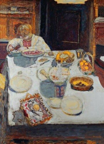 Pierre Bonnard: Der Tisch. 1923